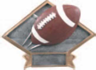Resin Football Plaque Award