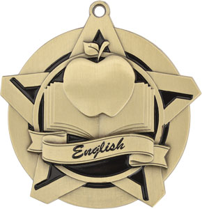 43042 English Medal with Six Pricing Options