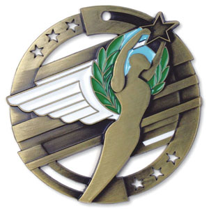 Large Enamel Achievement Medal with Six Pricing Options