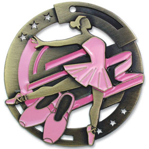 Large Enamel Ballet Medal with Six Pricing Options