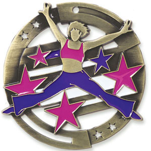 Large Enamel Dance Medal with Six Pricing Options