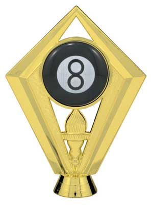 Eight Ball Trophy Figure 7438