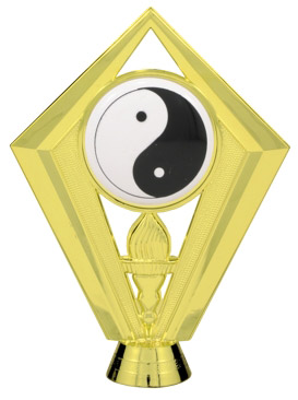 Yin Yang Trophy Figure FIG7439
