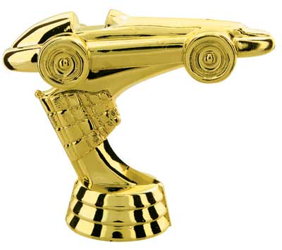 Pinewood Derby Trophy Figure 9303
