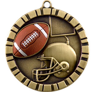 IM212 Football Medal with Six Pricing Options
