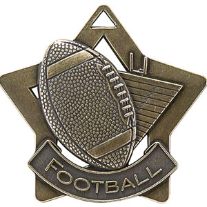 XS207 Football Medal with Six Pricing Options
