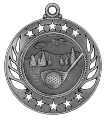 GM105 Golf Medal with Six Pricing Options