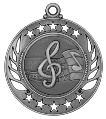 GM108 Music Medal with Six Pricing Options