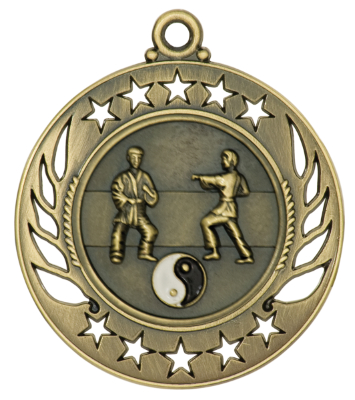 GM111 Martial Arts Medal with Six Pricing Options