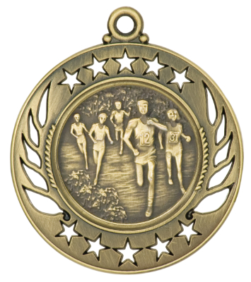 GM114 Cross Country Medal with Six Pricing Options