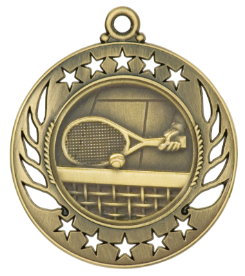 GM116 Tennis Medal with Six Pricing Options