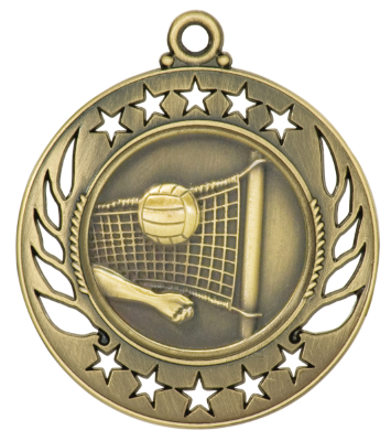 GM117 Volleyball Medal with Six Pricing Options