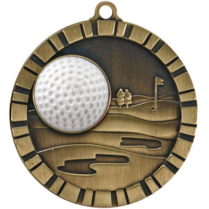 IM228 Golf Medal with Six Pricing Options