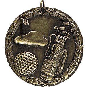 XR228 Golf Medals with Six Pricing Options