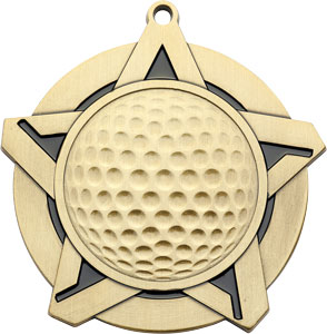 43060 Golf Medal with Six Pricing Options