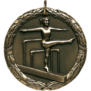 XR246 Female Gymnastics Medals with Six Pricing Options