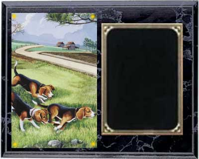 Deluxe Beagle Hunt Plaques H Series
