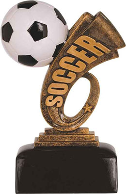 Headliner Resin Soccer Trophies HDL 106-206  buying (two sizes available)