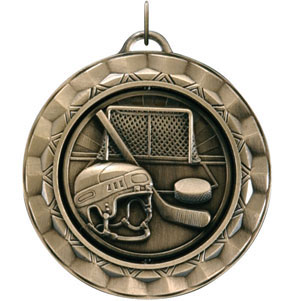SP371 Spinning Hockey Arts Medal with Six Pricing Options