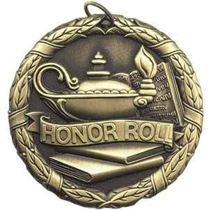 XR254 Honor Roll Medals with Six Pricing Options