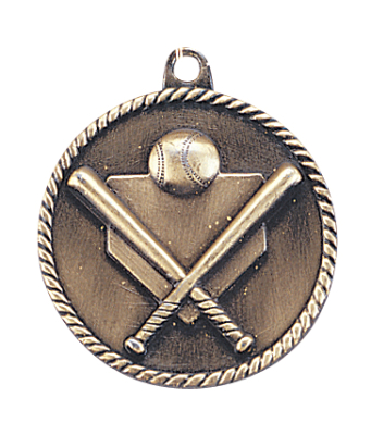 HR705 Baseball Medals with Six Pricing Options