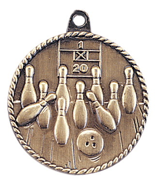 HR715 Bowling Medals with Six Pricing Options