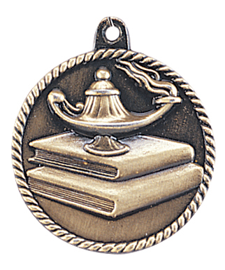HR740 Lamp of Knowledge Medals with Six Pricing Options