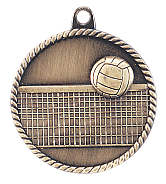 HR765 Volleyball Medals with Six Pricing Options