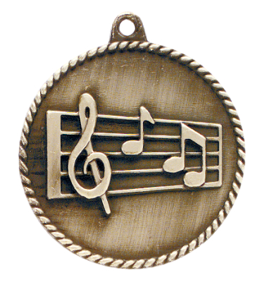 HR785 Music Medals with Six Pricing Options