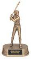 Women's or Girl's Softball Resin Trophy Statue JD12
