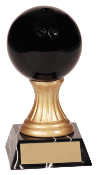 Resin Bowling Ball Trophy JDS107