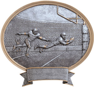 54500GS Legend Oval Football Plaques as Low as $10.99