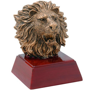 Promote School Spirit with a Lion Mascot Trophy