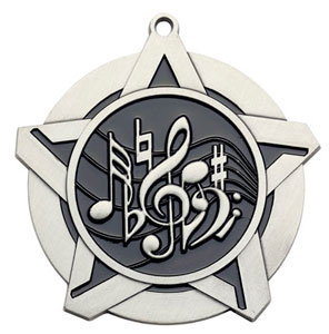 43120 Music Medal with Six Pricing Options