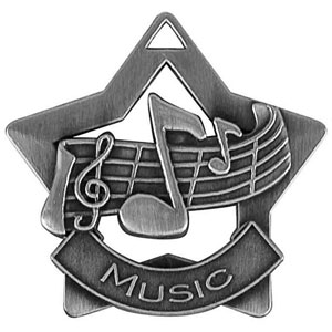 XS212 Music Star Medal with Six Pricing Options