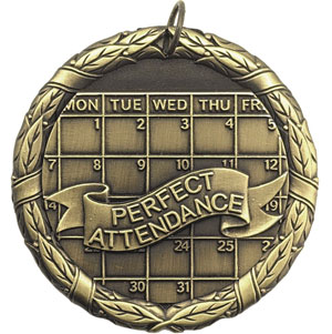 XR255 Prefect Attendance Medals with Six Pricing Options