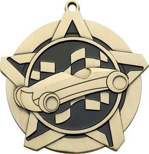 43113 Pinewood Derby Medals with Six Pricing Options
