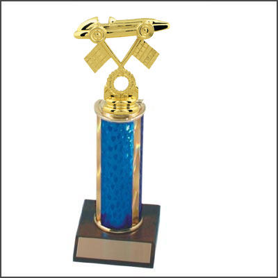 Go Kart Trophies and Pinewood Derby Trophies