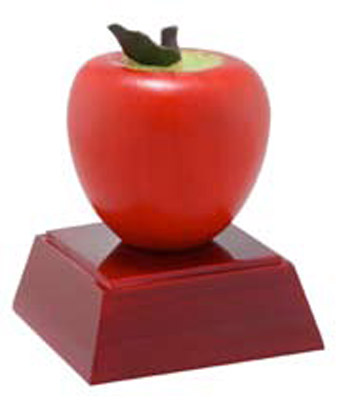Resin Apple Trophy