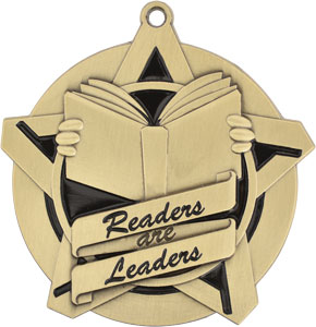 43027 Readers are Leaders Medals with Six Pricing Options as low as $1.40