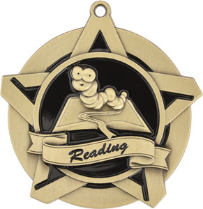 43007 Reading Medals with Six Pricing Options as low as $1.40