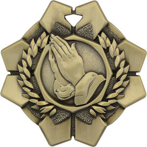 43611 Imperial Praying Hands Medal As low as $.99