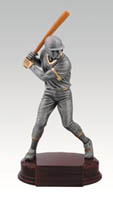 Baseball Hitter Trophy Resin Statue RFC911