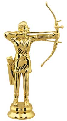 Female Archer Trophy Figure 81645