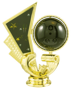 Spinning Bowling Trophy topper