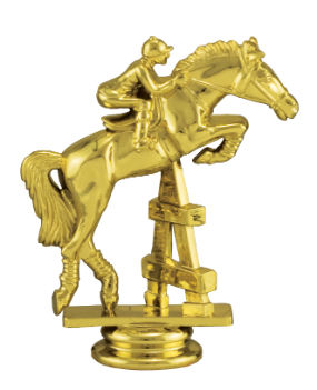 Jumping Horse Trophy Figure 89484-4006