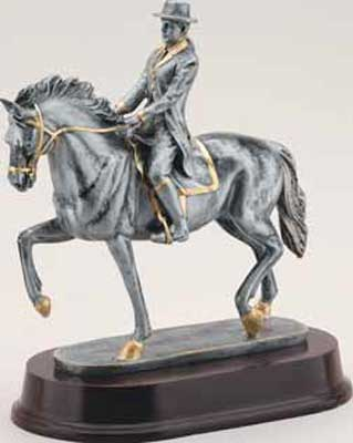 Resin Female Dressage Trophy