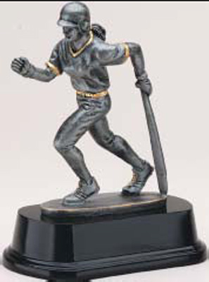 Resin Softball Trophy Sculpture