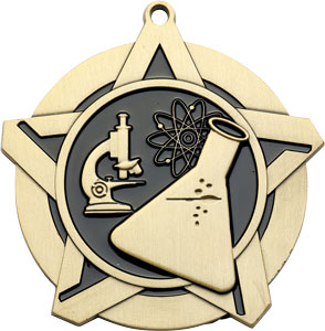 43002 Science Medal with Six Pricing Options