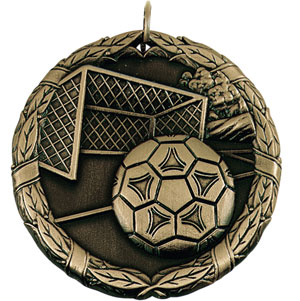 XR213 Soccer Medals with Six Pricing Options